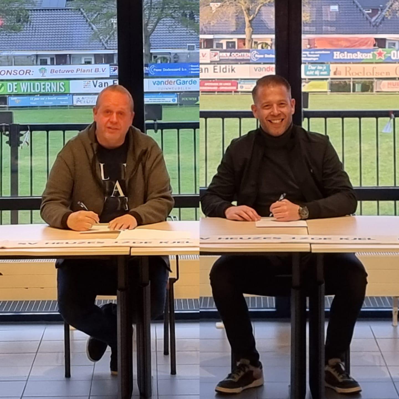 Trainers sv DFS 2 ondertekenen contract